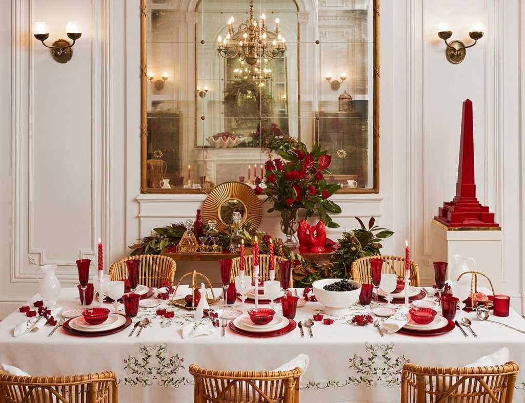 Blanco y rojo - Zara Home