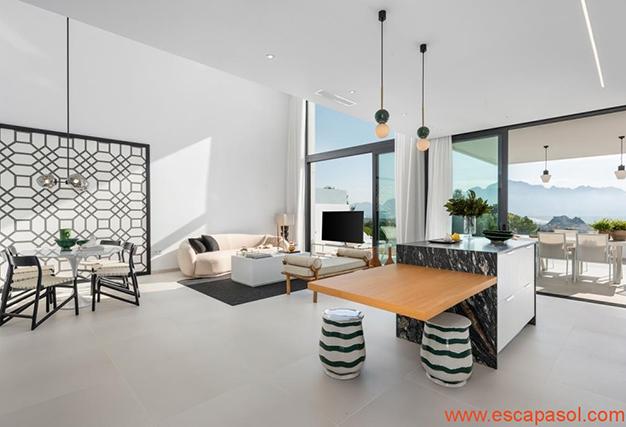 salón 2 1 - Villa de lujo en Alicante: luminosa y muy espaciosa