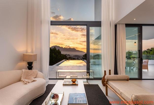 salón 2 2 - Villa de lujo en Alicante: luminosa y muy espaciosa