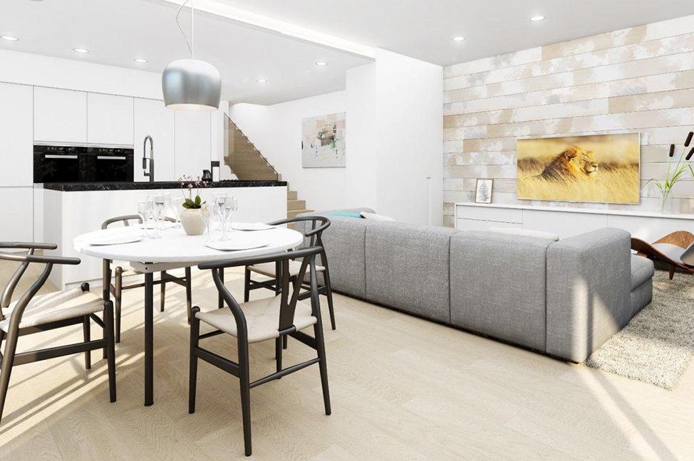 salón 2 - Impresionante villa en Alicante, moderna y con amplias zonas verdes