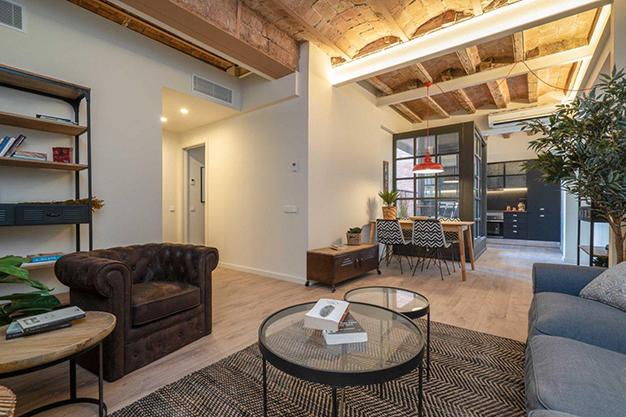 sala raval - Moderno apartamento en el centro de Barcelona para los que buscan un estilo único