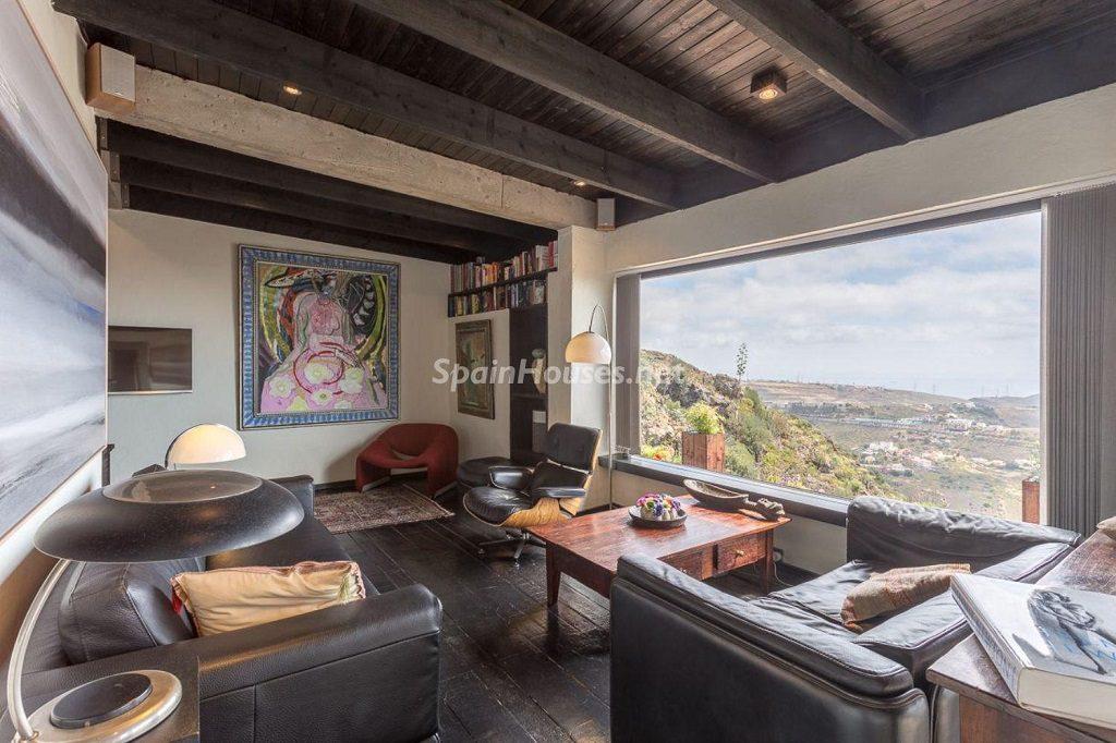 saladeestar vistas 1024x682 - Elegante y sereno toque otoñal en una bonita casa en Tafira, Las Palmas de Gran Canaria