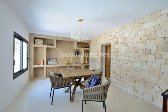 saladeestar8 - Fantástica villa en Cala Vadella (San José, Ibiza): blanca, luminosa y mediterránea