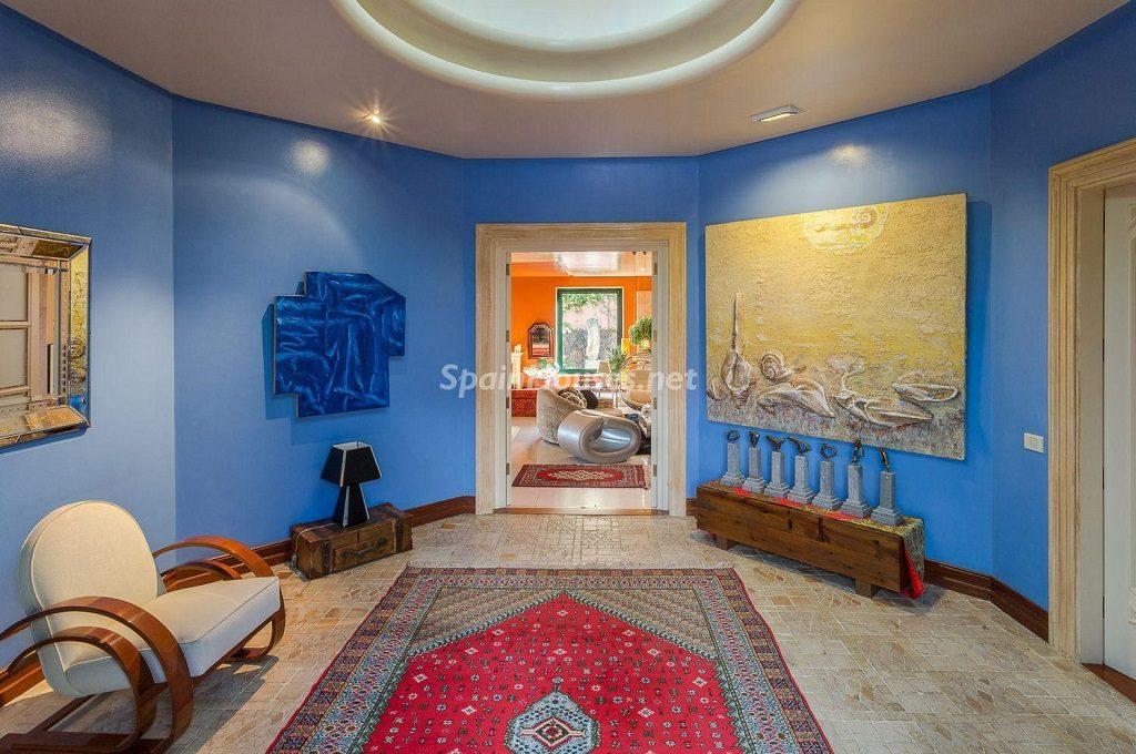 saladistribucion 1024x680 - Lujosa serenidad clásica en una espectacular casa en Las Palmas de Gran Canaria