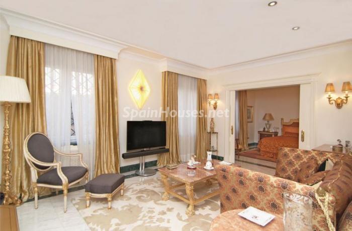 salitadormitorio - Espectacular, lujoso y señorial apartamento en el barrio de Salamanca, Madrid