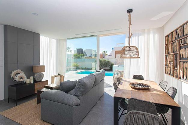 salon 1 1 - Casa cerca de la playa en Alicante con calidades de lujo