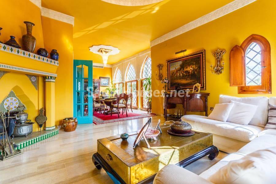 salon 14 - Estilo mudéjar lleno de encanto en un espectacular chalet en el Aljarafe de Sevilla