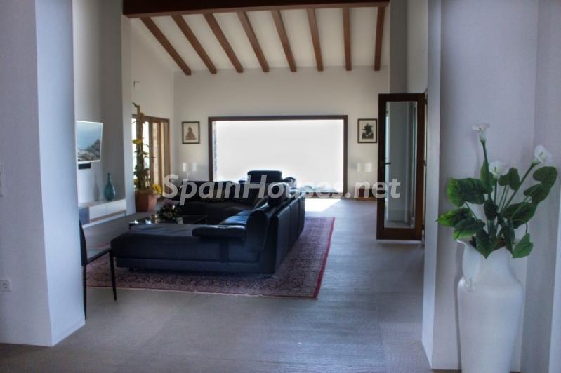 salon 16 - Lujosa casa vestida de piedra en Benitachell (Costa Blanca) con vistas panorámicas al mar