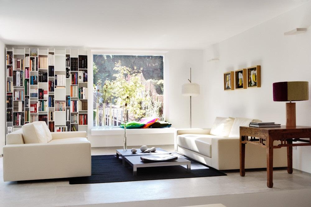 salon 33 - Diseño contemporáneo y luz otoñal en una preciosa casa en Madrid