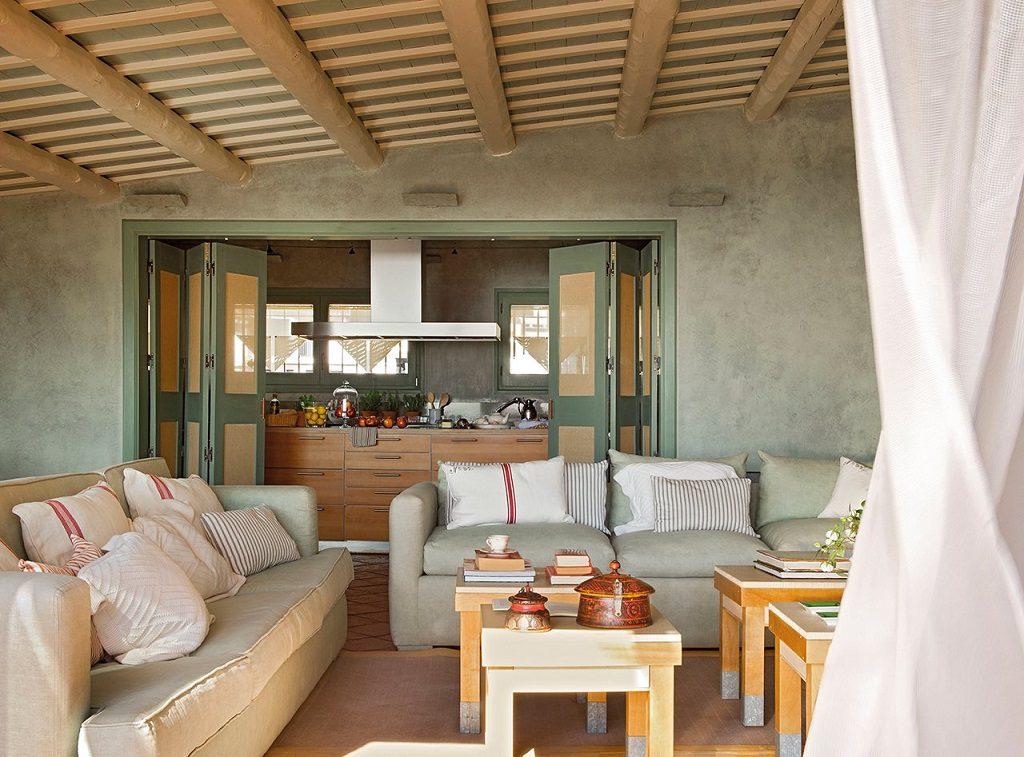 salon 38 1024x757 - Cálida serenidad en perfecta armonía con el mar en Costa Brava (Girona)