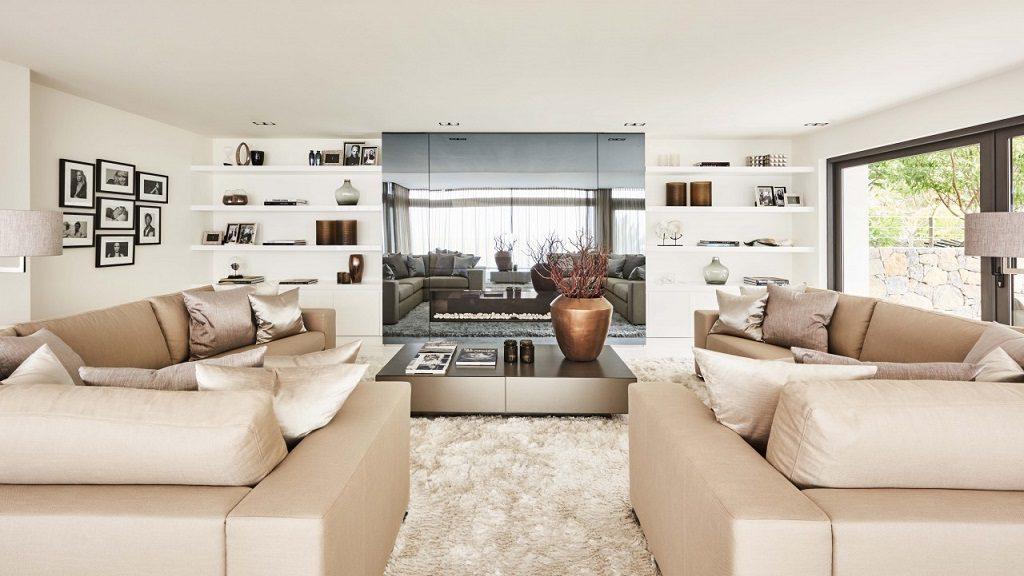 salon 45 1024x576 - Altea Hills: Villas de diseño mediterráneo con vistas al mar en Costa Blanca (Alicante)