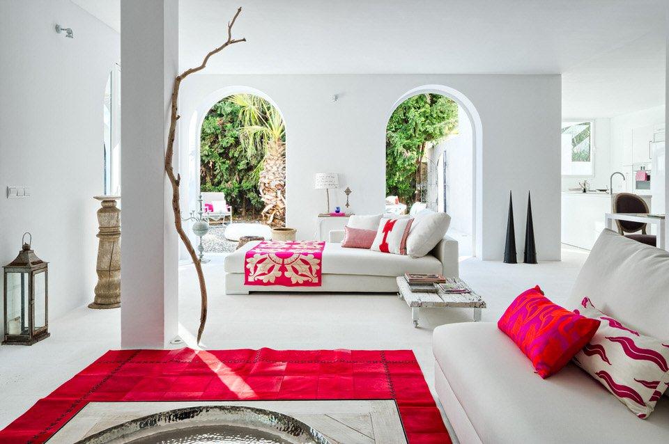 salon 62 - Serenidad minimalista y mediterránea en una genial casa en Sotogrande (Cádiz)