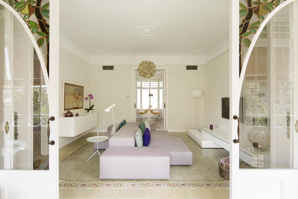 """salon 67 - Toque """"Art Novou"""" con jardín en una elegante casa modernista en Barcelona"""