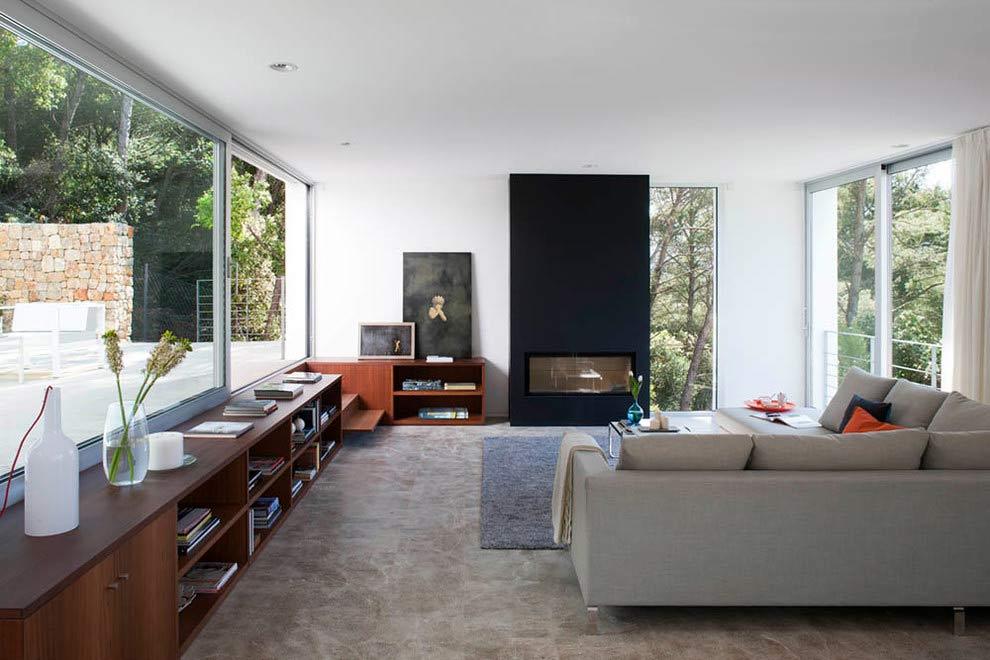 salon 69 - Diseño modular y mediterráneo en una genial casa en Pollensa (Mallorca, Baleares)