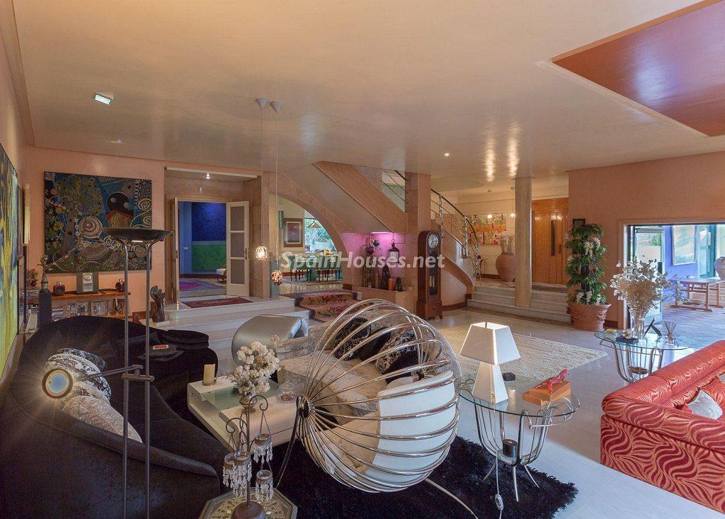 salon ambientediseño 1024x733 - Lujosa serenidad clásica en una espectacular casa en Las Palmas de Gran Canaria