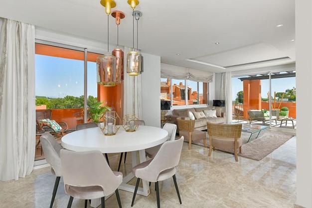 salon apartamento marbella - Lujoso apartamento en el centro de Marbella, a 5 minutos de Puerto Banús