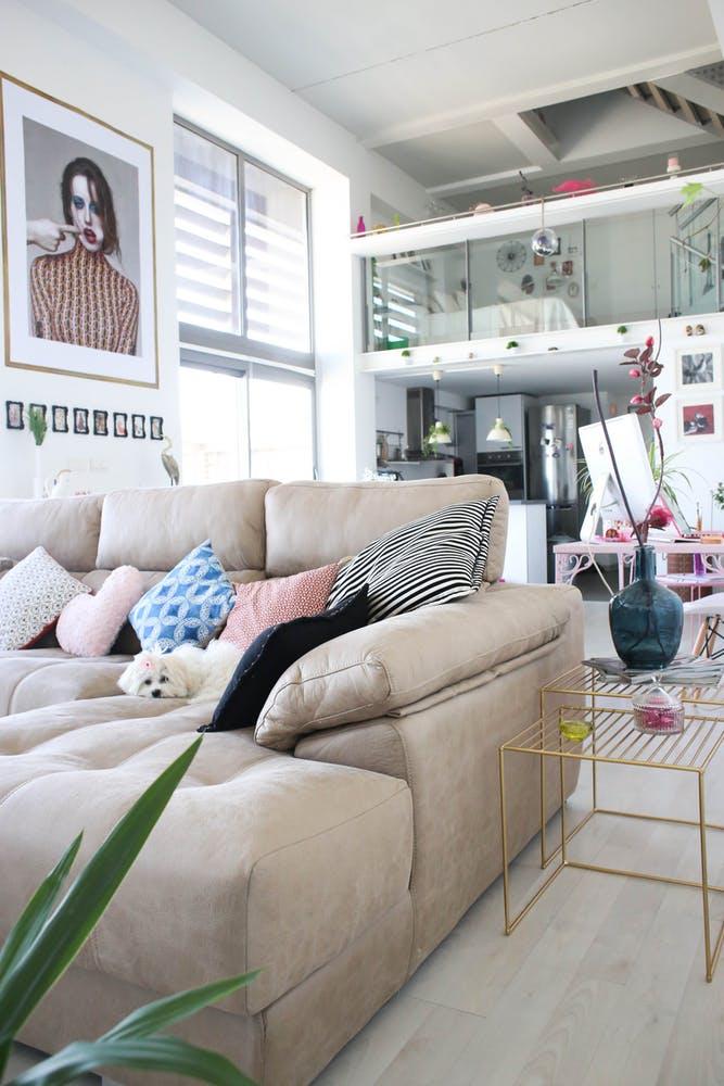 Apartamento en Valencia: ecléctico, moderno y con geniales toques de color