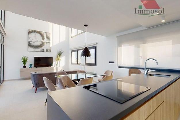 salon comedor Benidorm - La casa perfecta es esta villa de lujo en Benidorm con piscina, jardín, solarium y mucho más
