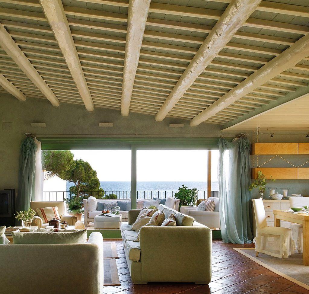salon comedor vistas 1024x974 - Cálida serenidad en perfecta armonía con el mar en Costa Brava (Girona)