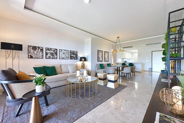 salon marbella - Este apartamento en venta en Marbella es el hogar perfecto para vivir en un entorno natural único y ser feliz
