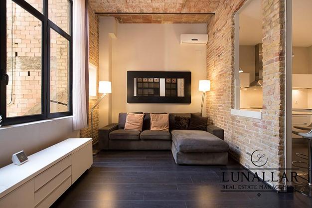 salon piso diseno barcelona - Fabuloso piso de diseño en Barcelona centro