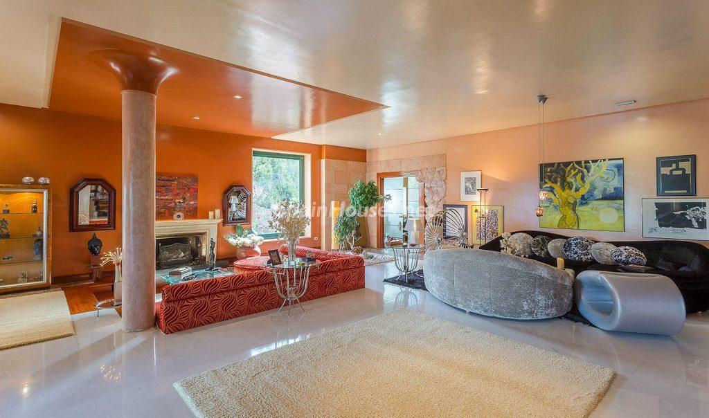 salon1 27 1024x604 - Lujosa serenidad clásica en una espectacular casa en Las Palmas de Gran Canaria