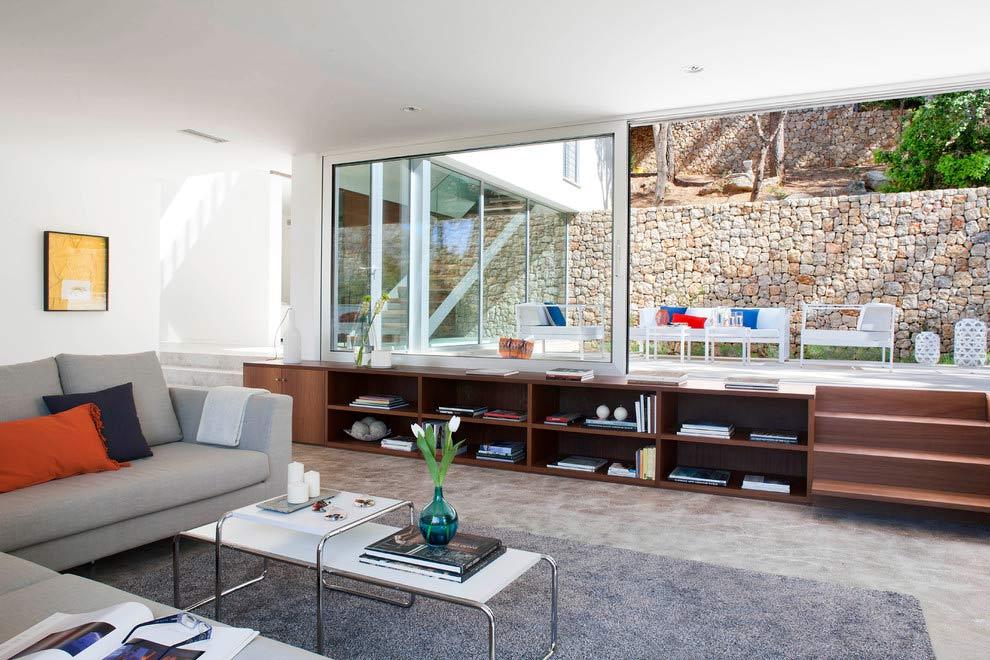 salon1 41 - Diseño modular y mediterráneo en una genial casa en Pollensa (Mallorca, Baleares)