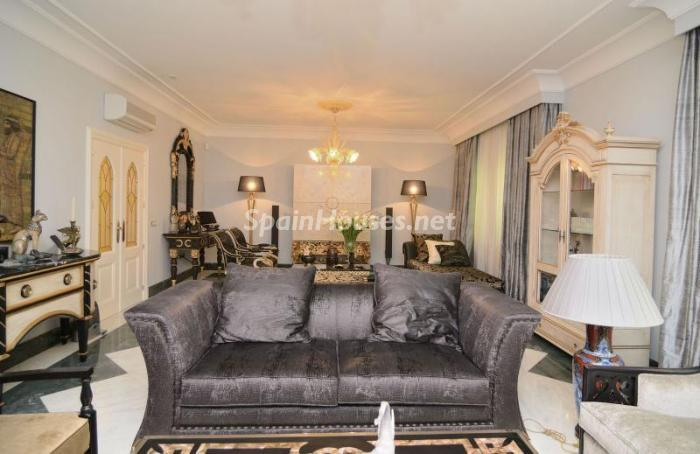 salon101 - Espectacular, lujoso y señorial apartamento en el barrio de Salamanca, Madrid