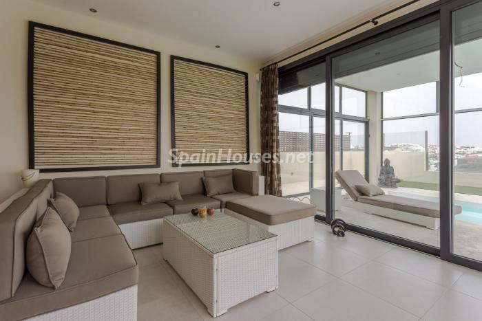 salon107 - Precioso chalet de diseño contemporáneo en Las Palmas de Gran Canaria