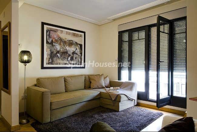 salon126 - Elegante y acogedor ático en alquiler en el barrio de Salamanca, Madrid