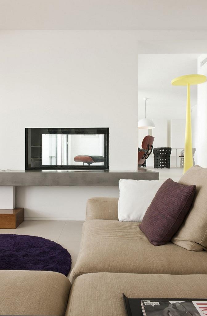 salon149 - Preciosa villa en Ibiza de espectacular y radiante blanco minimalista junto al mar