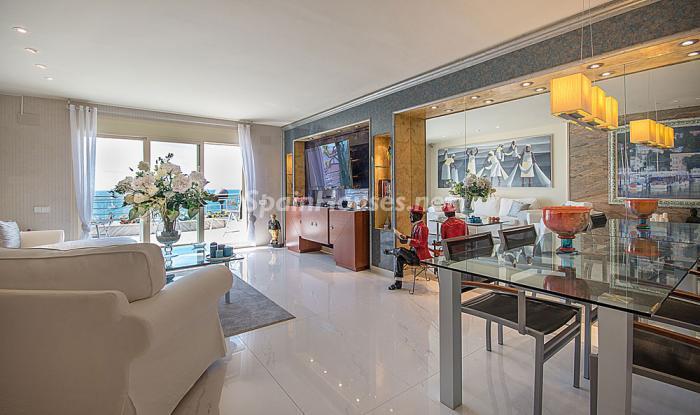 salon152 - Elegancia, espacio y luz en una fantástica casa en Port d'Aiguadolç, Sitges (Barcelona)