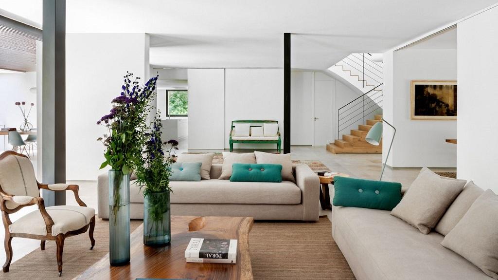 salon155 - Genial toque otoñal y minimalista en una fantástica casa en La Moraleja (Alcobendas, Madrid)