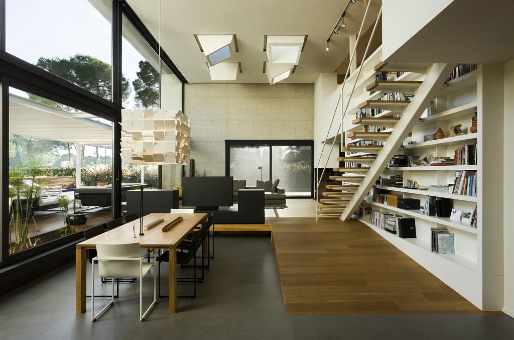 salon162 - Luz, volumen y espacio en una fantástica casa en el Pinar del Grao, Castellón de la Plana