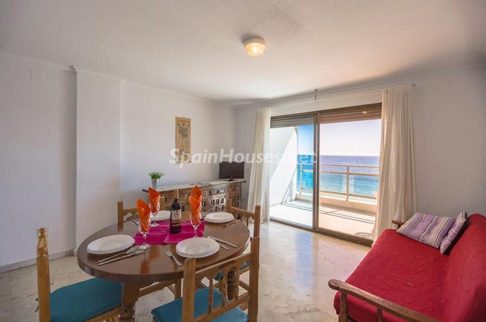 salon166 - Escapada económica a la playa en un apartamento en Calpe (Costa Blanca, Alicante)