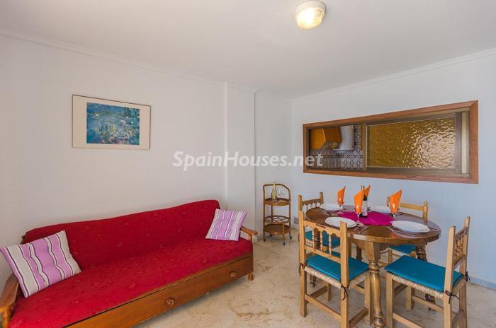 salon167 - Escapada económica a la playa en un apartamento en Calpe (Costa Blanca, Alicante)