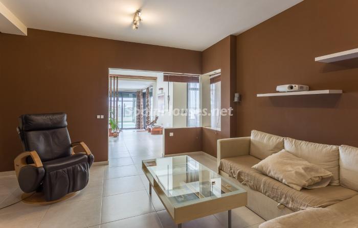 salon220 - Precioso chalet de diseño contemporáneo en Las Palmas de Gran Canaria