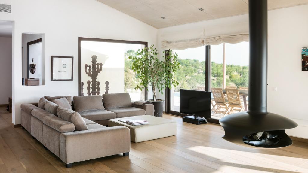 salon26 - Casa en Mallorca de estilo moderno y minimalista con la acogedora calidez mediterránea