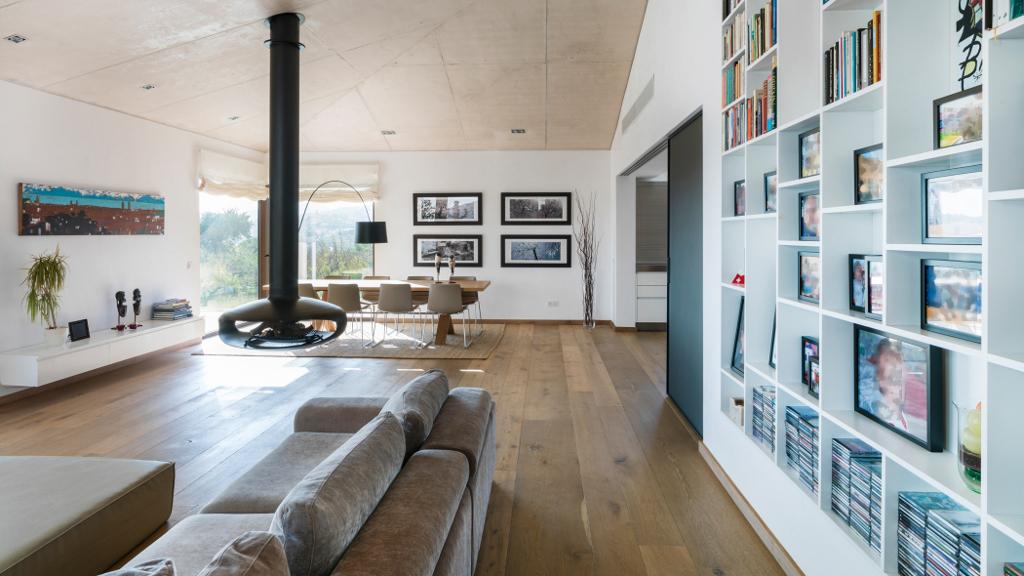 salon27 - Casa en Mallorca de estilo moderno y minimalista con la acogedora calidez mediterránea