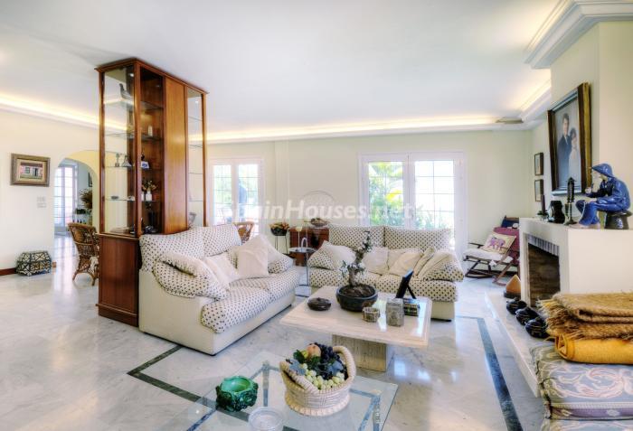 salon35 - Bonita casa con encanto y estupendas vistas al mar en Costa Adeje, Tenerife (Islas Canarias)