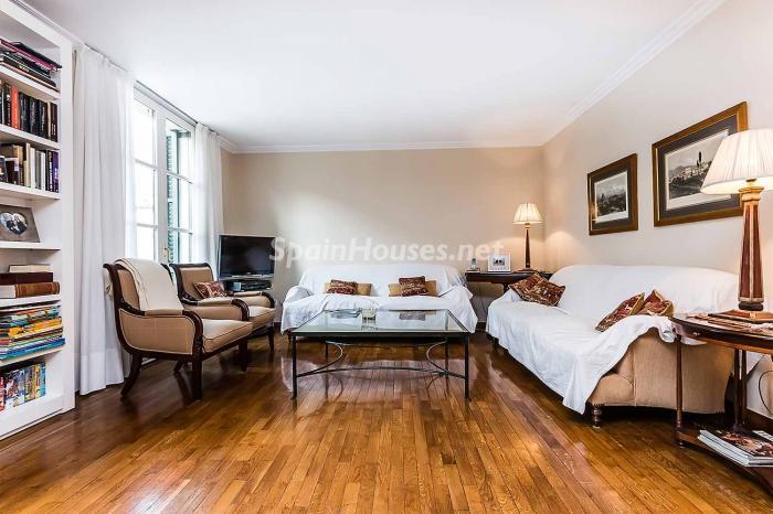 salon46 - Elegante y luminoso piso en el Eixample más señorial de Barcelona