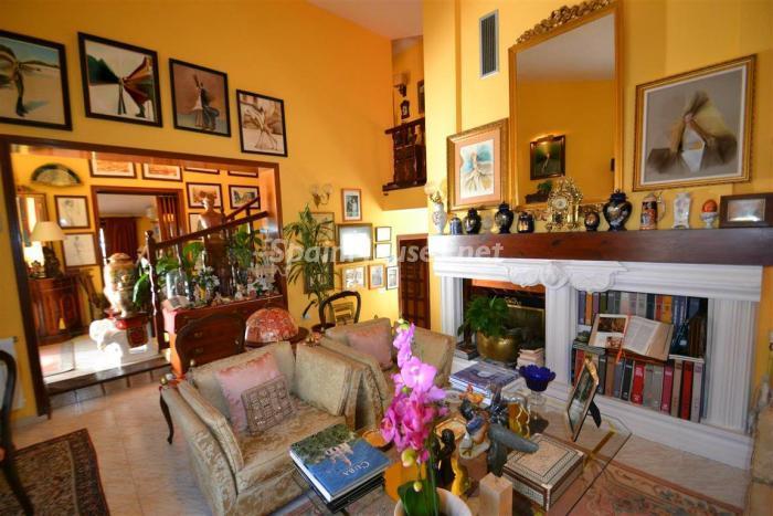 salon5 - Casa de la Semana: Chalet lleno de encanto en El Candado, Málaga (Costa del Sol)