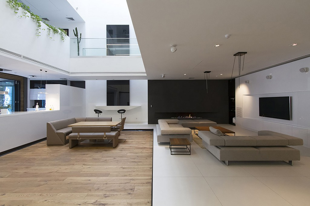 salon51 1024x679 - Casa Sharifi-ha, una fantástica vivienda que gira buscando el sol