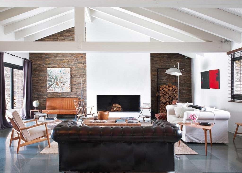 salon53 - Esencia cálida en espacios diáfanos: la casa que soñó ser un loft en contacto con la naturaleza