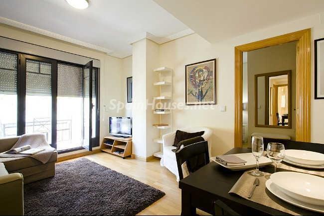 salon57 - Elegante y acogedor ático en alquiler en el barrio de Salamanca, Madrid