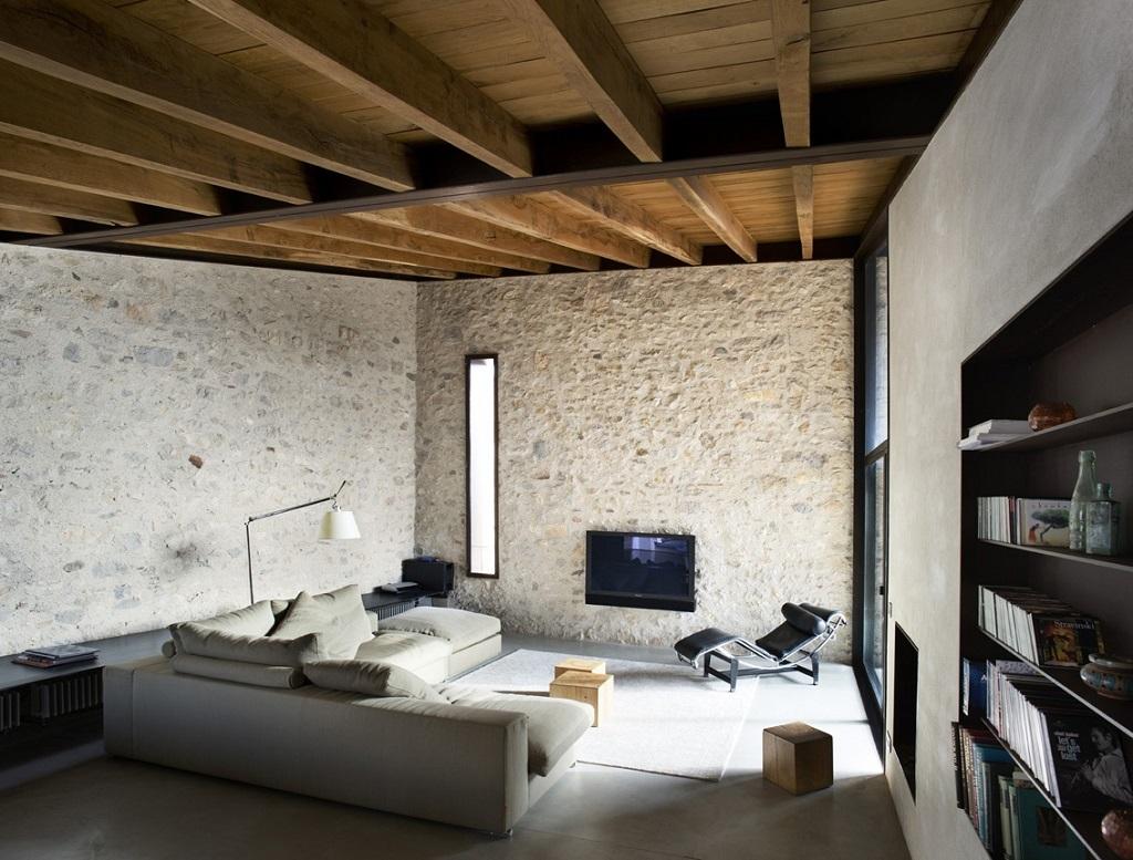 salon58 - Encanto en el Barri Vell de Girona, lo antiguo y lo moderno fundidos a la perfección
