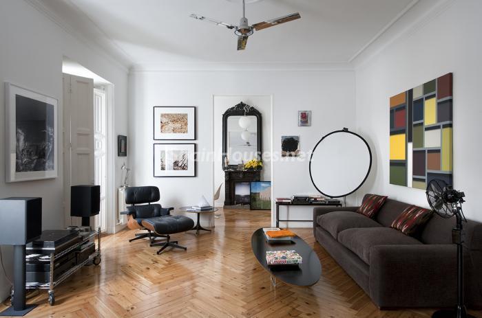 salon62 - Precioso piso lleno de amplitud y estilo en el centro de Madrid