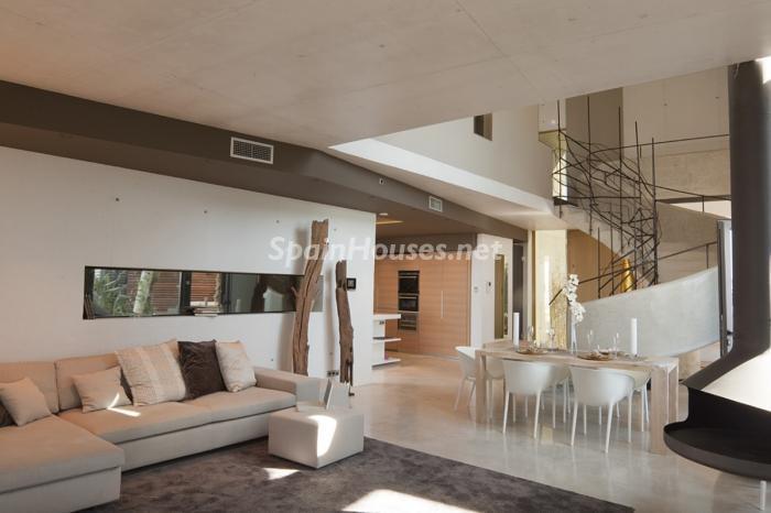 salon71 - Preciosa y moderna villa llena de exclusividad en Benidorm, Costa Blanca