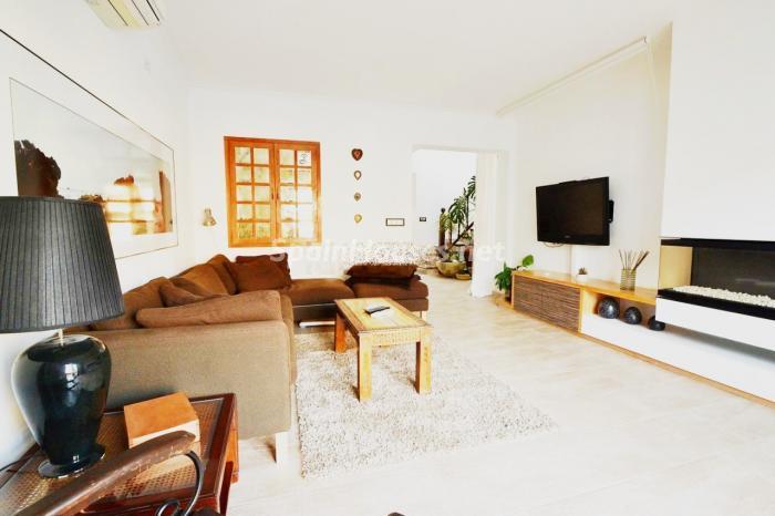 salon84 - Coqueto y luminoso chalet en alquiler en Son Rapinya, Palma de Mallorca