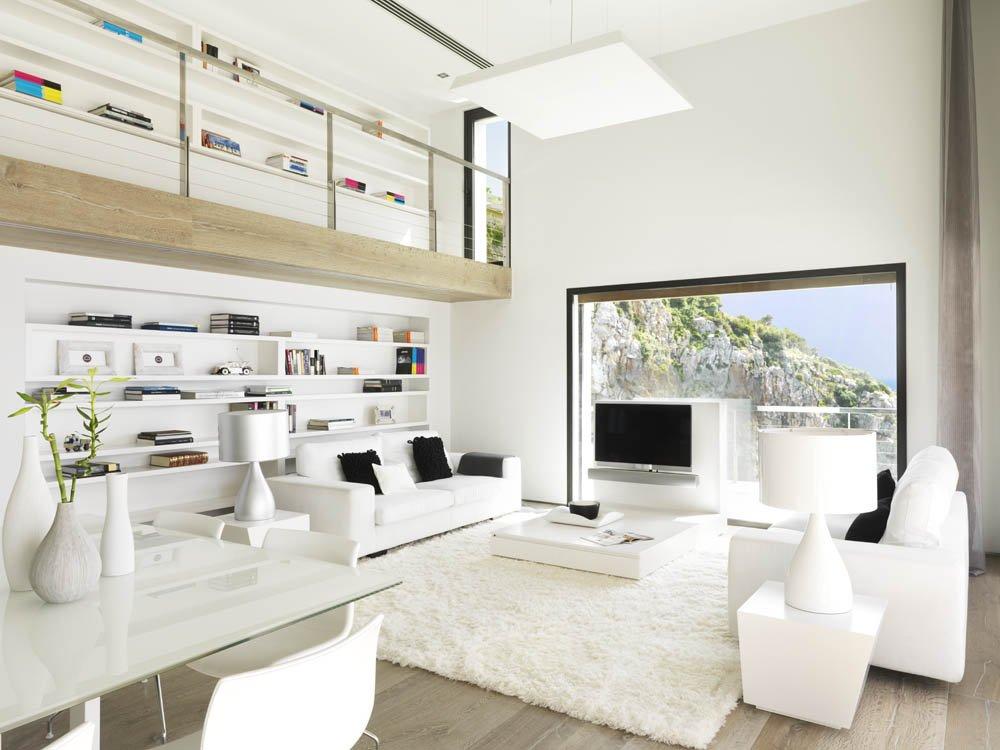 salon85 - Puro blanco sobre el mar en una espectacular casa en Almuñécar (Costa Tropical, Granada)